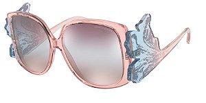 Giorgio Armani AR8137 Pink Lentes Grad Pink Brown Mirror Sil Int