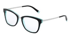 Tiffany TF2186 Black/Crystal Blue