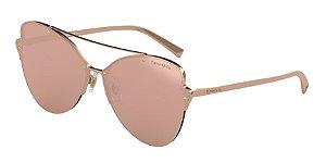 Tiffany TF3063 Rubedo Lentes Clear Mirror Real Rose Gold