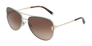 Tiffany TF3066 Pale Gold Lentes Brown Gradient