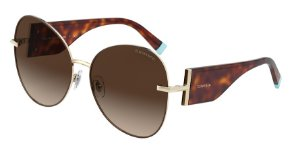 Tiffany TF3069 Pale Gold/Brown Lentes Brown Gradient