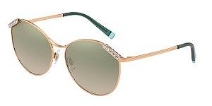 Tiffany TF3073B Rubedo Lentes Clear Grad Green Mirror Silver