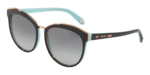 Tiffany TF4146 Black/Blue Lentes Grey Gradient