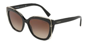 Tiffany TF4148 Black Lentes Brown Gradient