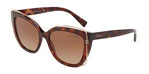 Tiffany TF4148 Havana Lentes Brown Gradient