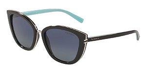 Tiffany TF4152 Black Lentes Polar Azure Gradient Blue