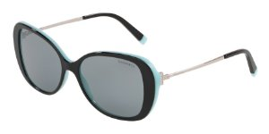 Tiffany TF4156 Black/Blue Lentes Grey