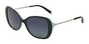 Tiffany TF4156 Black/Blue Lentes Polar Azure Gradient Blue
