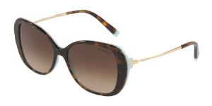 Tiffany TF4156 Havana/Blue Lentes Brown Gradient