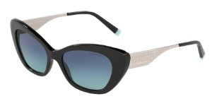 Tiffany TF4158 Black Lentes Azure Gradient Blue