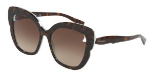 Tiffany TF4161 Havana/Blue Lentes Brown Gradient
