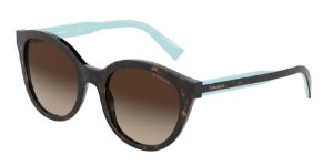 Tiffany TF4164 Havana Lentes Brown Gradient
