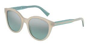 Tiffany TF4164 Opal Ivory Lentes Light Azure Mirror Silver Grad