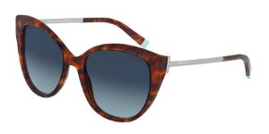 Tiffany TF4166 Havana Lentes Polar Azure Gradient Blue