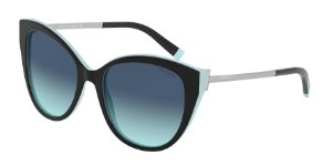 Tiffany TF4166 Black/Blue Lentes Azure Gradient Blue