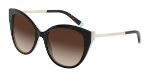 Tiffany TF4166 Havana/Blue Lentes Brown Gradient