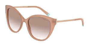 Tiffany TF4166 Opal Nude Lentes Clear Gradient Brown