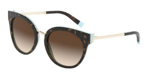 Tiffany TF4168 Havana/Blue Lentes Brown Gradient