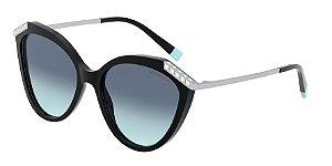Tiffany TF4173B Black Lentes Azure Gradient Blue