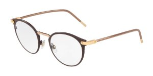 Dolce & Gabbana DG1318 Matte Brown/Gold