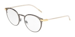 Dolce & Gabbana DG1318 Brushed Dark Gunmetal