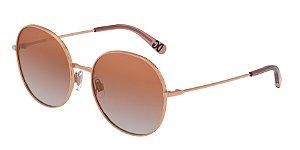 Dolce & Gabbana DG2243 Pink Gold Lentes Gradient Pink Mirror Pink