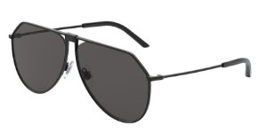 Dolce & Gabbana DG2248 Matte Black Lentes Grey