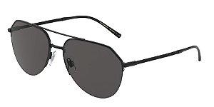 Dolce & Gabbana DG2249 Black Lentes Grey