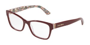 Dolce & Gabbana DG3274 Bordeaux On New Maiolica