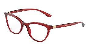 Dolce & Gabbana DG3324 Transparent Red