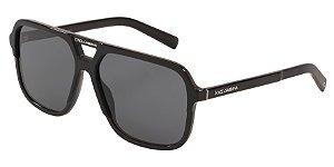 Dolce & Gabbana DG4354 Black Lentes Polar Grey