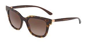 Dolce & Gabbana DG4362 Havana Lentes Brown Gradient