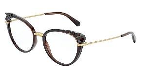 Dolce & Gabbana DG5051 Transparent Brown
