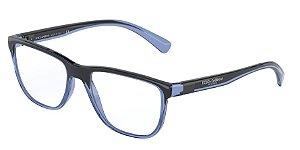 Dolce & Gabbana DG5053 Transparent Blue/Black