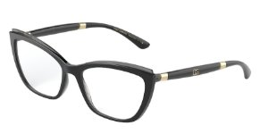 Dolce & Gabbana DG5054 Black On Transparent Grey
