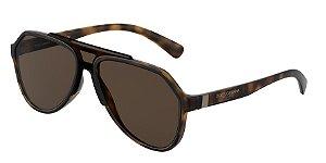 Dolce & Gabbana DG6128 Matte Havana Lentes Brown
