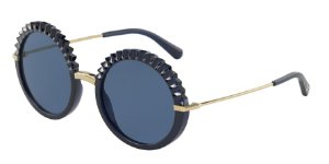 Dolce & Gabbana DG6130 Opal Blue Lentes Dark Blue