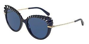 Dolce & Gabbana DG6135 Opal Blue Lentes Dark Blue