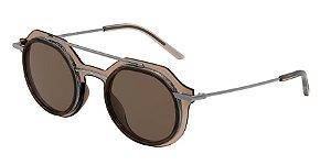 Dolce & Gabbana DG6136 Transparent Brown Lentes Brown