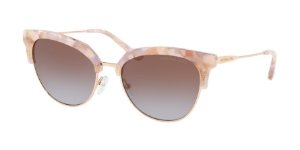 Michael Kors MK1033 SAVANNAH Pastel Pink Mosaic/Shiny Rose Lentes Brown Purple Gradient