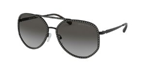 Michael Kors MK1039B MIAMI Matte Black Lentes Light Grey Gradient