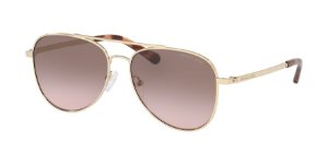 Michael Kors MK1045 SAN DIEGO Light Gold Lentes Brown Pink Gradient