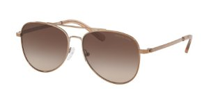 Michael Kors MK1045 SAN DIEGO Shiny Mink Brown Lentes Smoke Gradient