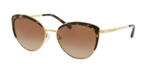 Michael Kors MK1046 KEY BISCAYNE Gold Lentes Brown Gradient