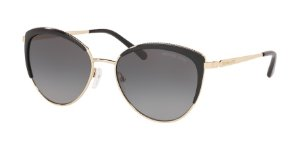 Michael Kors MK1046 KEY BISCAYNE Light Gold Lentes Grey Gradient Polar