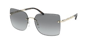 Michael Kors MK1057 AURELIA Light Gold Lentes Grey Gradient