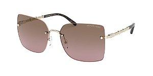 Michael Kors MK1057 AURELIA Light Gold Lentes Brown Pink Gradient