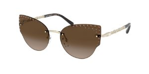 Michael Kors MK1058B ST. ANTON Light Gold Lentes Smoke Gradient