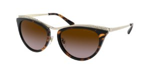 Michael Kors MK1065 AZUR Light Gold Lentes Brown Gradient