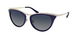 Michael Kors MK1065 AZUR Light Gold Lentes Blue Gradient